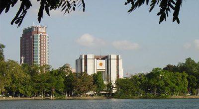 Trụ sở Hội Đồng Nhân dân và Uỷ Ban Nhân dân thành phố Hà Nội