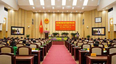 Cải tạo hội trường trụ sở HĐND và UBND TP Hà Nội