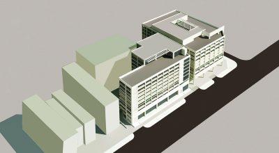 Tòa nhà để xe cao tầng 311-313 Trường Chinh