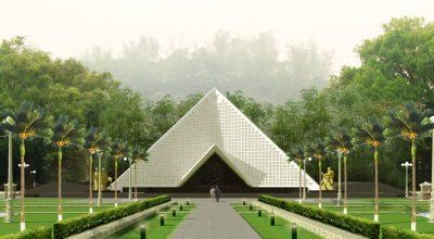 Trung tâm hành lễ và nhà tưởng niệm nghĩa trang liệt sỹ A1 Điện Biên