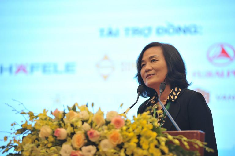 Mở đầu diễn đàn, Ths.KTS Lã Thị Kim Ngân – Phó viện trưởng chia sẻ những mong muốn kỳ vọng khi thực hiện chủ đề này