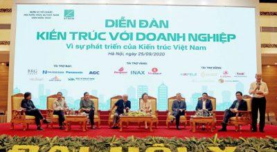 Diễn đàn Kiến trúc với Doanh nghiệp – Vì sự phát triển của Kiến trúc Việt Nam