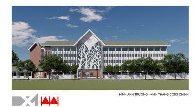 Mở rộng và nâng cấp Trường THPT Phú Xuân